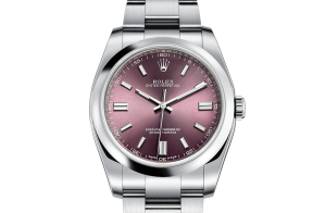 Reloj Rolex para hombre Oyster Perpetual Oystersteel 116000
