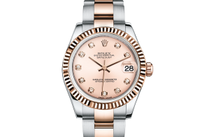 Reloj Rolex para mujer Datejust Oystersteel y Everose gold 178271